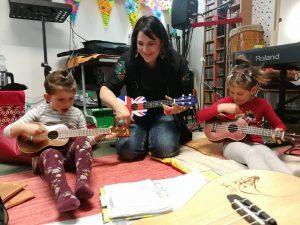 Educación Musical Temprana en compañia de sus padres