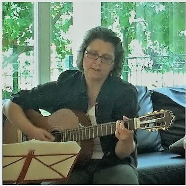 Gesang mit Gitarre Begleitung  Guitarra acompañante