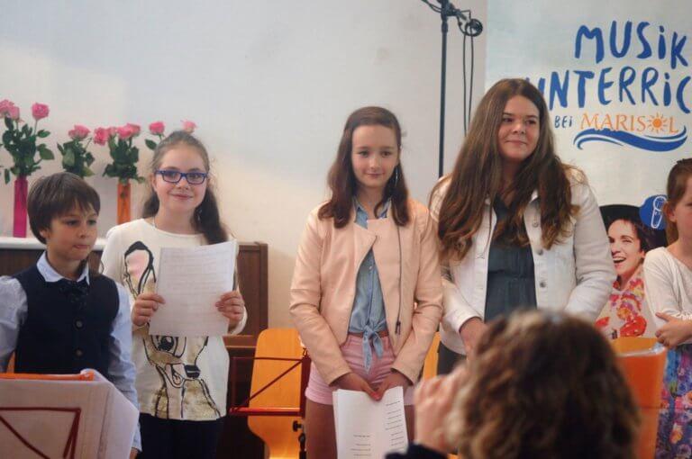 Frühlingskonzert Kinder St Andrä